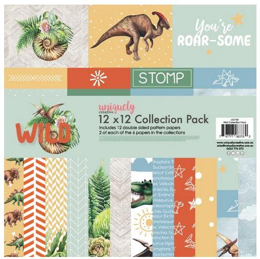 UCP2105 12x12 Wild Collection Pack (Dreamer & Wild)