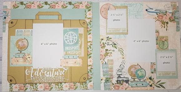 **INSTRUCTIONS ONLY** for 'Mintay Wanderlust' - Interactive Double Layout  (SBK)(By : Jenny Heaslip)