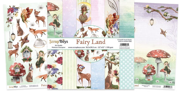 ScrapBoys - FALA-08 12 x12 Paper Pack (Fairy Land)