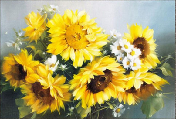 Diamond Painting #38 - Sunflowers