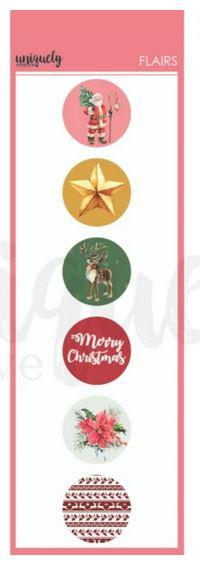 Christmas Flairs : Holly Jolly Christmas (Uniquely Creative)
