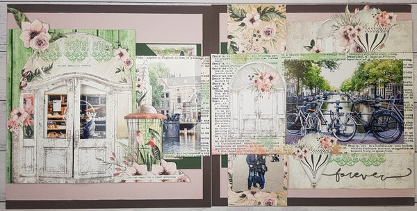 'Mintay Secret Place'' - Interactive Double Layout  (By : Jenny Heaslip)