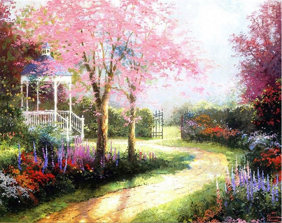 Diamond Painting #19 - Garden Scene