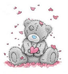 Diamond Painting #21- Heart Bear