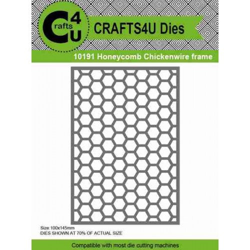 Craft - 10191 Honeycomb chickenwire Die