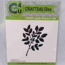 Craft - Leafy branch die