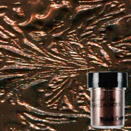 Lindys Stamp Gang Embossing Powder- Midnight Copper