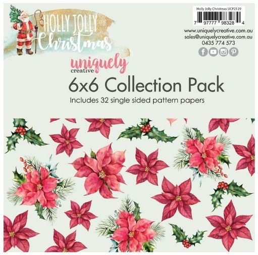 UCP2129 6x6 Collection Pack - Holly Jolly Christmas