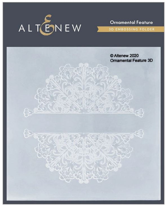 Altenew : ALT4697OF  - Ornamental Feature 3D Embossing Folder