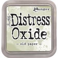 Ranger Distress Oxide Ink Pad - Old paper