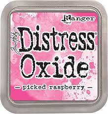 Ranger Distress Oxide Ink Pad - Picked raspberry