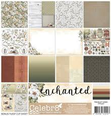 "PP5207 : 12""x12""Paper Pack (Celebr8 - Enchanted)"