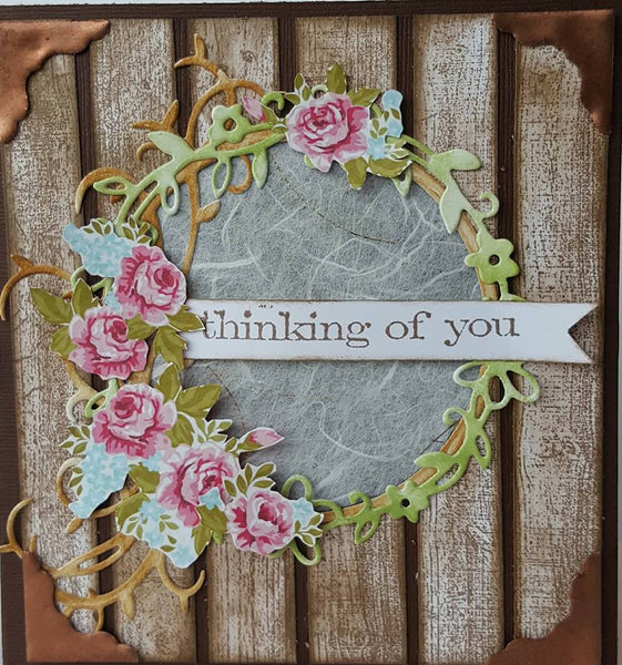 **INSTRUCTIONS ONLY** for Rustic Card Card Kit (CK)*