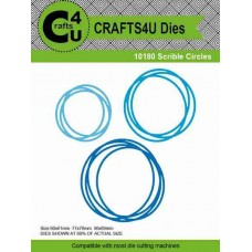 Craft - Scrible circles die