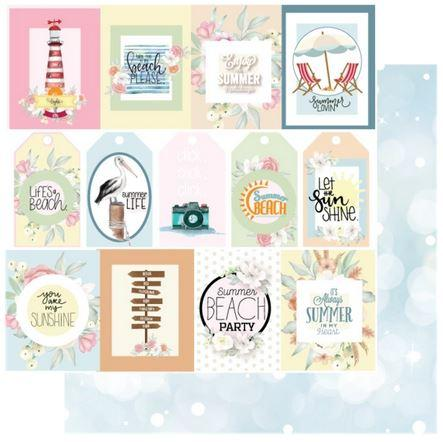 UCP2137 Summer Days Paper - Ocean Breeze (Uniquely Creative)