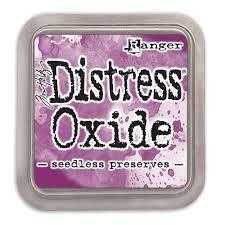 Ranger Distress Oxide Ink Pad -Seedless preserves