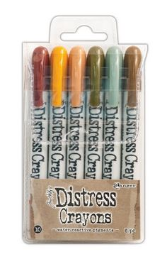 Tim Holtz - Distress Crayons SET 10