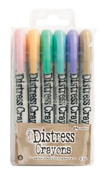 Tim Holtz - Distress Crayons SET 5