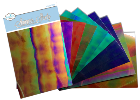 Shimmer Sheets - Gemstone Sampler 10 pack