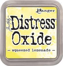 Ranger Distress Oxide Ink Pad -  Squeezed Lemon