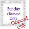 Pay Deposit for Sunday 19/05/19 Day Pass