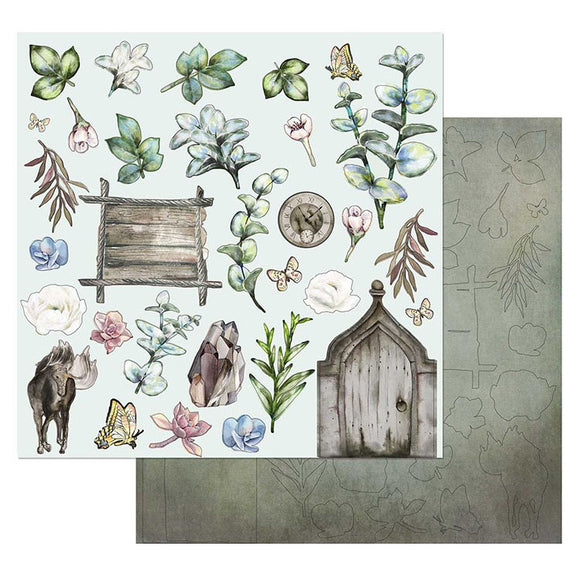 49 and Market - Tattered Garden TG87322 Cut outs laser cut