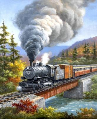 Diamond Painting #40 - Train