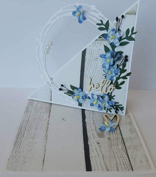 **INSTRUCTIONS ONLY** for Twist Easel Card Kit (CK)*