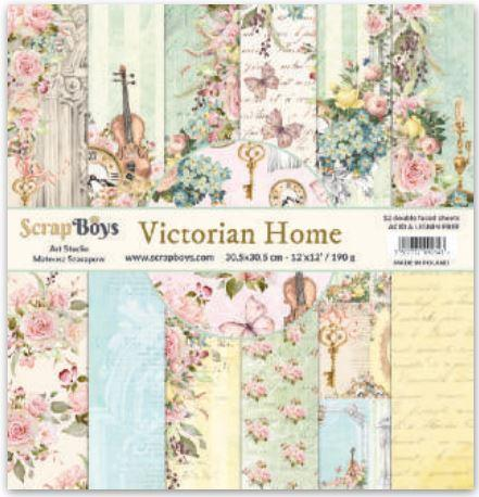 ScrapBoys - VIHO-08 12 x12 Paper Pack (Victorian Home)