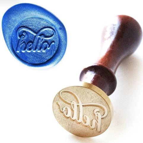 Altenew : Wax Seal Stamp - Just Hello