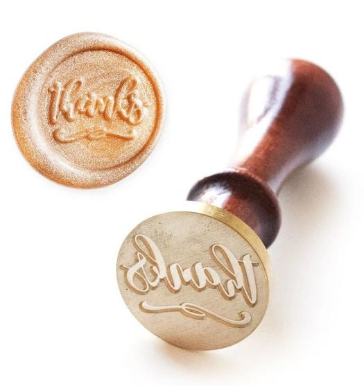 Altenew : Wax Seal Stamp - Just Thanks