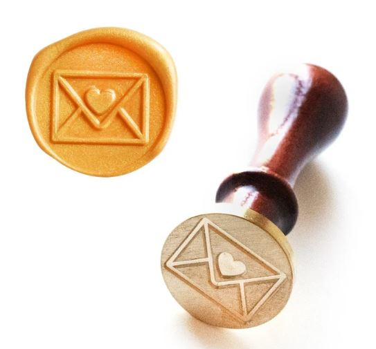 Altenew : Wax Seal Stamp - With Love