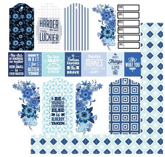 UCP21115 Wide Blue Yonder Paper - Something Blue (Uniquely Creative)