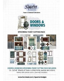 3Quarter Designs - Fussy Cut pack - Doors and Windows