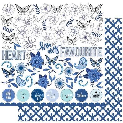 UCP2114 My Favourite Blue Paper - Something Blue (Uniquely Creative)