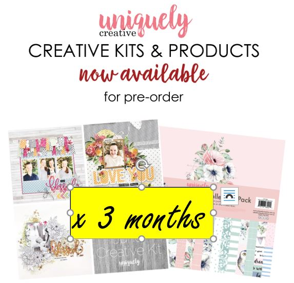 3 month Subscription - Creative Kit Club