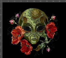 Load image into Gallery viewer, Alien Floral Panel - Pre Order