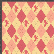Load image into Gallery viewer, Gryffindor Argyle - Silver Fox Fabrics