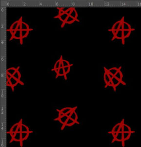 Anarchy - Silver Fox Fabrics