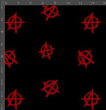 Load image into Gallery viewer, Anarchy - Silver Fox Fabrics