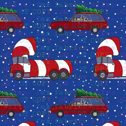 Christmas in the Car CL - Silver Fox Fabrics