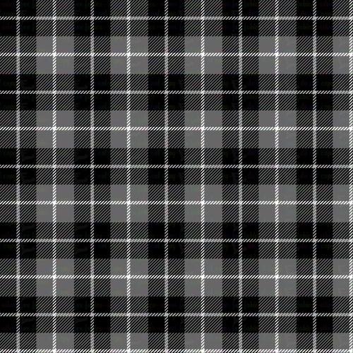 Gray Plaid - Silver Fox Fabrics