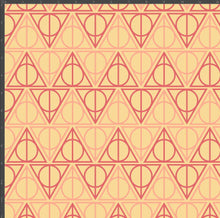 Load image into Gallery viewer, Gryffindor Hallows - Silver Fox Fabrics