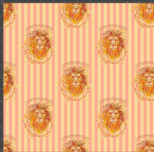 Load image into Gallery viewer, Gryffindor Stripe - Silver Fox Fabrics