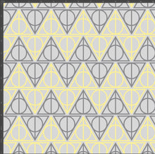 Load image into Gallery viewer, Hufflepuff Hallows - Silver Fox Fabrics