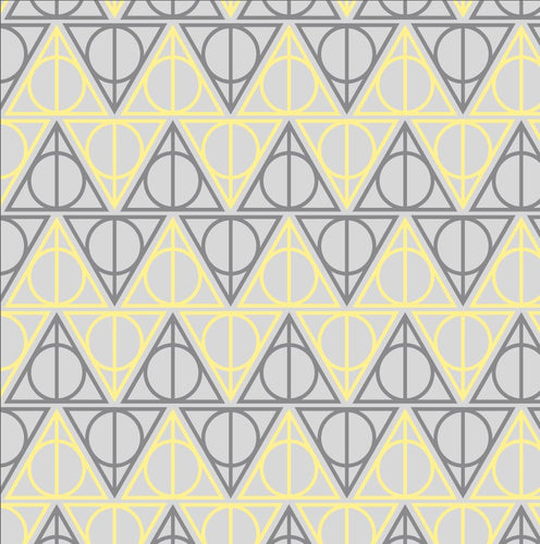 Hufflepuff Hallows - Silver Fox Fabrics