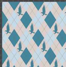 Load image into Gallery viewer, Ravenclaw Argyle - Silver Fox Fabrics