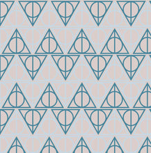 Load image into Gallery viewer, Ravenclaw Hallows - Silver Fox Fabrics