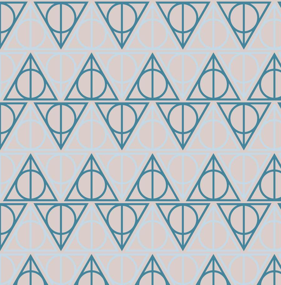 Ravenclaw Hallows - Silver Fox Fabrics