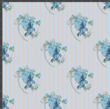 Load image into Gallery viewer, Ravenclaw Stripe - Silver Fox Fabrics